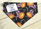 Double Stitched Pumpkins, Hats & Bats, Halloween Dog Bandana, Focus for a Cause