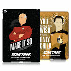 OFFICIAL STAR TREK ICONIC PHRASES TNG HARD BACK CASE FOR APPLE iPAD