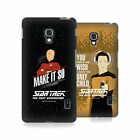 OFFICIAL STAR TREK ICONIC PHRASES TNG HARD BACK CASE FOR LG PHONES 3
