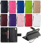 For Sony Xperia X Performance Strap Rose Love 3D Emboss Wallet Flip Cover Case