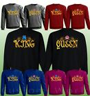 New Design - King & Queen - His And Hers Couple Sweaters New Color Crewnecks