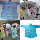 10-50x Adult Emergency Waterproof Disposable Rain Coat Poncho Hiking Camping Fad
