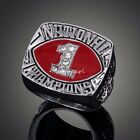 Oklahoma Sooners 1985 National Championship Ring Heavy Solid