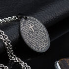 AgentX Men's Necklace Stylish Stainless Steel Dog Tag Pendant Silver Chain