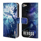 STAR TREK POSTERS BEYOND XIII LEATHER BOOK WALLET CASE FOR APPLE iPOD TOUCH MP3