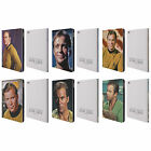 OFFICIAL STAR TREK CAPTAIN KIRK LEATHER BOOK WALLET CASE COVER FOR APPLE iPAD