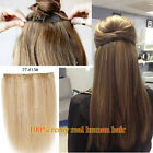One Piece Extensions Thick Clip In 100% Human Hair Extensions 24inches 100-200g