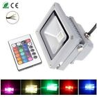 10x Waterproof 10W RGB 16 Color Changing Outdoor LED Flood Light IP65 +IR remote