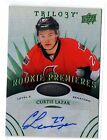 2014-15 UD Trilogy Rookie Premieres Auto Radiant Green Level 2 /99