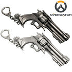 Overwatch Hero McCree Weapon Model Keychain Key Ring Pendant Collectible Gift