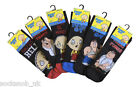 Mens Family Guy fun character socks, Gift, Multi pack, 6-11 uk, EU 39-45
