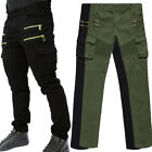 2016 New Combat Mens Fashion Stylish Slim Cotton Long Pants Army Casual Trousers