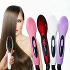 Electric Hair Straightener Comb  Iron Brush Auto Hair Massager Tool AU/US Hot