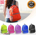 ZaiaZ  Foldable Backpack Travel Bag Outdoor Camping DayBack Rucksack Sport 25L