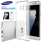Samsung Galaxy Note 7 Ultra Slim Clear Transparent Gel Soft Back Case Cover Skin