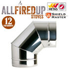 Shieldmaster Twin Wall Insulated Flue System Multifuel Flue Pipe Stainless Steel