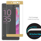 3D Curved Full Covergae Tempered Glass Screen Protector for Sony Xperia XA Ultra