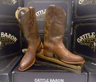Double H Boot Mens 11 Inch Cattle Baron Round Toe Roper