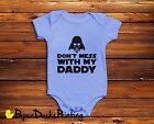 Darth Vader Star Wars Funny Baby Bodysuit Vest Maternity Gift Boys Girls