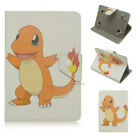 "For 9.7"" 10.1"" Universal Tablet Case PU Leather Pikachu Pokemon Patterned Cover"