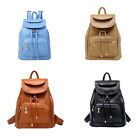 Women's Backpack Travel PU Leather Handbag Rucksack Shoulder School Bag OZ