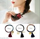 1PC BD Women New Fashion Hair String Rubber Band Hair Rope Tassels Accessory