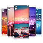 HEAD CASE DESIGNS WORDS TO LIVE BY 4 SOFT GEL CASE FOR SONY XPERIA XA