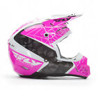 NEW FLY RACING KINETIC CRUX MX OFFROAD ADULT HELMET PINK/BLACK/WHITE ALL SIZES