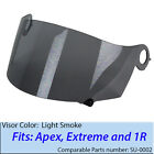 SUOMY Aftermarket Tinted Shield Visor fits Spec 1R Extreme Apex Excel helmet