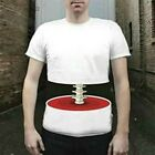 Fashion Mens 3D Big Bone Printed T-Shirt Funny Short Sleeve Tee Men's T-shirt AS