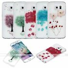 Cherry Sakura Tree Pressed Real Dry Flower Floral Case Cover For Samsung Galaxy