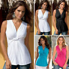 CHEAP New Sexy Ladies Fashion T-Shirt Summer Casual Party V-Neck Shirts Vest Top