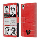 CUSTOM PERSONALISED 5 SECONDS OF SUMMER GROUP LEATHER BOOK CASE FOR HTC PHONES 2