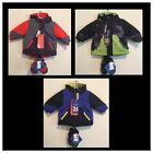 Childrens Place Lot 2 Thermolite Coat Jacket & Mitten Set 3 in 1 Boys 6-9 months