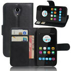 ZTE ZIP/ZTE A110 Wallet Folio Stand Card Holder Case Cover For OPTUS ZTE ZIP
