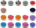 Czech 15/45g  2/3/4mm Round Lot Colorful Glass Seed Beads DIY Jewelry Making