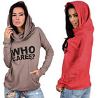 Fashion Women Hoodie Sweatshirt Casual Hooded Coat Pullover Pullover Tops