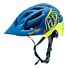 Troy Lee Designs A1 Drone Mountain Bike Helmet Navy Blue/Yellow