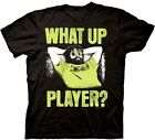 what is 1080p upscaling dvd player - Official The Hangover What Up Player T-Shirt -Comedy Movie Bradley Cooper Zach G