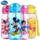 Baby Kids Children Disney School Drinking Water Straw Bottle Sippy Suction Cup