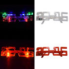 Timeproof Light Up New Years Eve Party Supplies Glasses Glowing Eye LED Shades