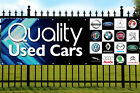 Used Cars Banner Sign Garage Advertising with Eyelets, BMW, Audi, Ford