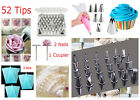 Icing Piping Nozzles Set Tips Cotton Bag Cake Decoration Kit Icing Crafts NEW