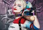 Superhero Movie Suicide Squad Harley Quinn colour poster A2, A1, A0 sizes