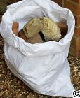 WHITE WOVEN POLYPROPYLENE RUBBLEBUILDERS POSTA  SACKS/BAGS HEAVY DUTY ..XS STOCK