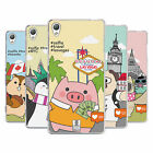 HEAD CASE DESIGNS TRAVEL SELFIES SOFT GEL CASE FOR SONY PHONES 1