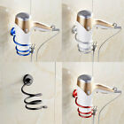 Внешний вид - Wall Hair Dryer Holder Rack Space Aluminum Bathroom Wall Holder Shelf Storage