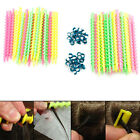 26Pc Plastic Long Styling Barber Salon Tool Hairdressing Spiral Hair Perm Rod