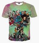 New Fashion Womens/Mens Superhero Deadpool Suicide Squad 3D Print T-Shirt US27