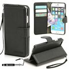 """Madcase® Apple iPhone 7(4.7"""") Litchi PU Leather Flip Wallet case with Card Slots"""